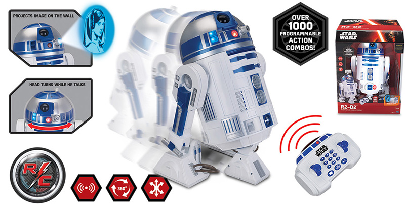 voice activated r2d2 instructions